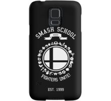 Smash School United (White) Samsung Galaxy Case/Skin