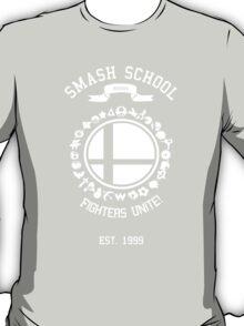 Smash School United (White) T-Shirt
