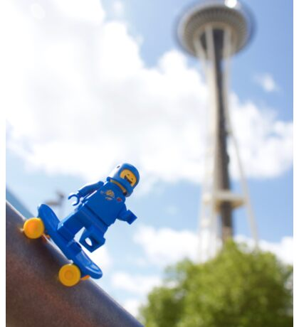 Space Needle, SPACE NEEDLE! Sticker