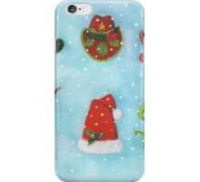 Christmas Hats iPhone Case/Skin