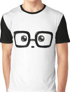 Geek Chic Panda Eyes Graphic T-Shirt
