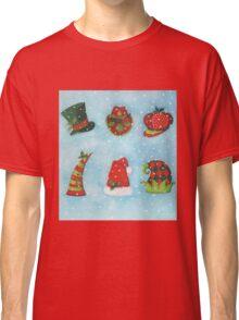 Christmas Hats Classic T-Shirt