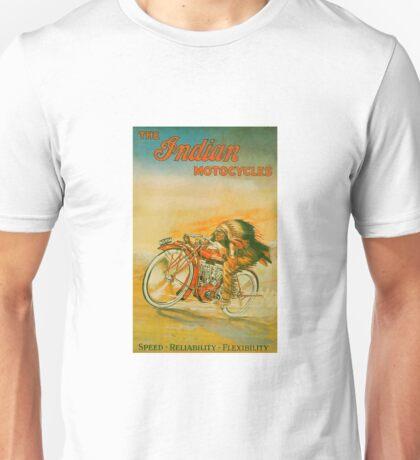 Vintage Indian Motorcycle Unisex T-Shirt