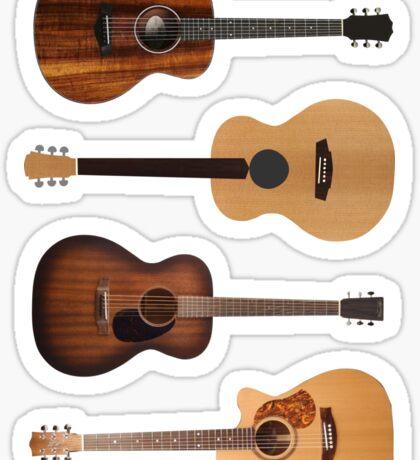 Acoustic heaven Sticker