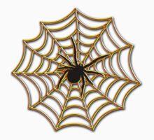 Halloween Spider Web One Piece - Long Sleeve