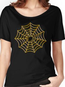 Halloween Spider Web Women's Relaxed Fit T-Shirt