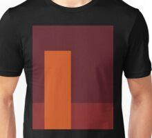 Lines, red, 3 - NESCI Unisex T-Shirt