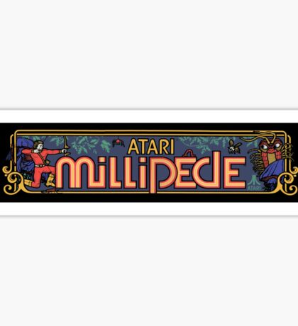 Millipede Sticker