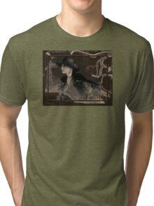 I love the retro style Tri-blend T-Shirt