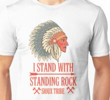I STAND WITH STANDING ROCK - WNI WICOLI Unisex T-Shirt