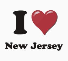 I Love New Jersey by ColaBoy