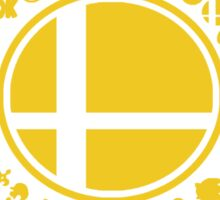 Smash School United (Yellow) Sticker