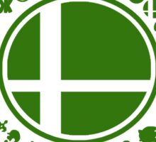 Smash School United (Green) Sticker