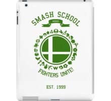 Smash School United (Green) iPad Case/Skin