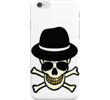 Halloween Skull Hipster iPhone Case/Skin