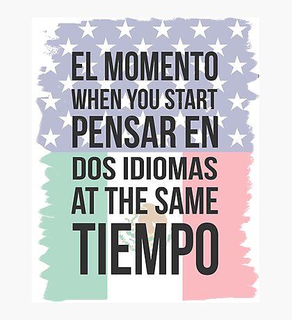El Momento (Yankee Version) Photographic Print