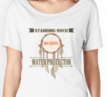 Water is Life - I'm united with the Standing Rock Sioux. Women's Relaxed Fit T-Shirt