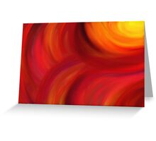 Energy from Sun Greeting Card