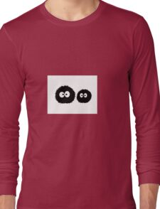 Soot Sprites - Studio Ghibli Long Sleeve T-Shirt