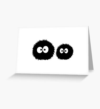 Soot Sprites - Studio Ghibli Greeting Card