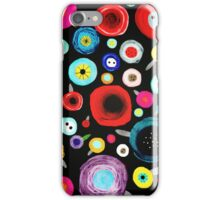 Still Life Floral Black Background iPhone Case/Skin