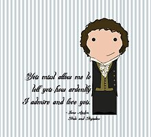 Mr. Darcy  by Jen  Talley