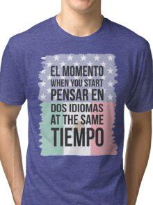 Thinking in Dos (Yankee Version) Tri-blend T-Shirt