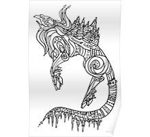 Winter monster Poster