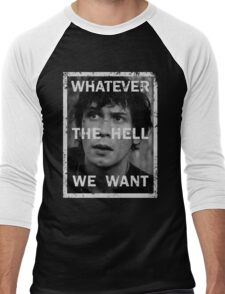 Bellamy - The 100 - Whatever the hell we want Men's Baseball ¾ T-Shirt