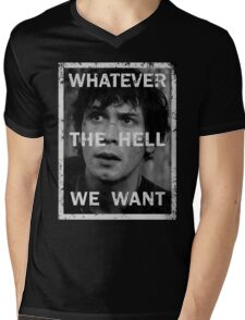 Bellamy - The 100 - Whatever the hell we want Mens V-Neck T-Shirt