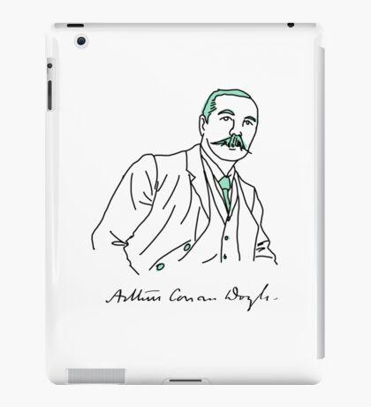 Minimalist Arthur Conan Doyle iPad Case/Skin