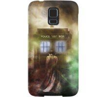 Abstract Color Hazy Police Public Call Box Samsung Galaxy Case/Skin