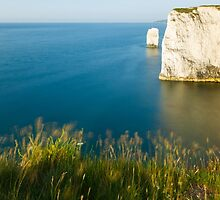 Morning light at Old Harry Rocks by Ian Middleton