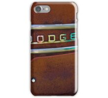 The Old Rusty Dodge iPhone Case/Skin