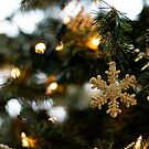 Golden Snowflakes by Crystal Zacharias