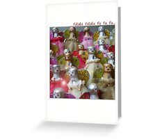 a seasonal card Greeting Card