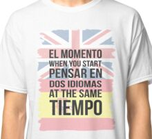 Thinking in Dos (Brit Version) Classic T-Shirt