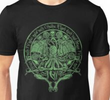 The Idol Sick Green Variant Cthulhu God Art Unisex T-Shirt