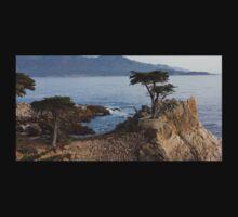 Monterey, California- wind blown tree T-Shirt