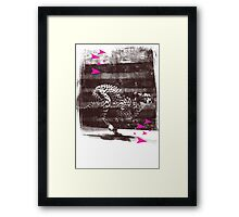 speed runner Framed Print