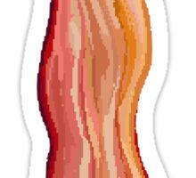 Pixel Bacon Sticker