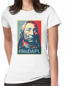 #NoDAPL - Stand With Standing Rock Womens Fitted T-Shirt