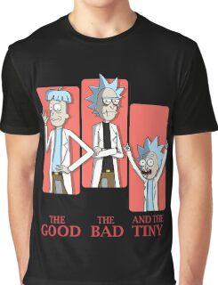 Good Rick. Bad Rick. And The Tiny Rick! Graphic T-Shirt