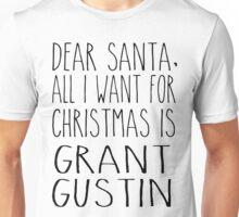 Grant Gustin Xmas Unisex T-Shirt