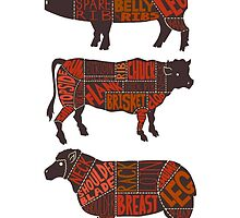 Meat Diagrams by mistahkent
