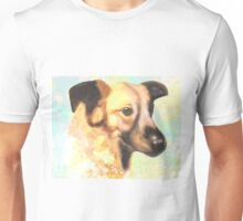 Water Color Dog Portrait  Unisex T-Shirt