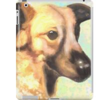 Water Color Dog Portrait  iPad Case/Skin