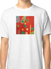 Scattered Things over Red  Classic T-Shirt