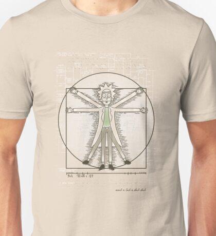 Virtruvian Rick Unisex T-Shirt