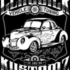 Hot Rod - Classick Kustomz (white) by GET-THE-CAR